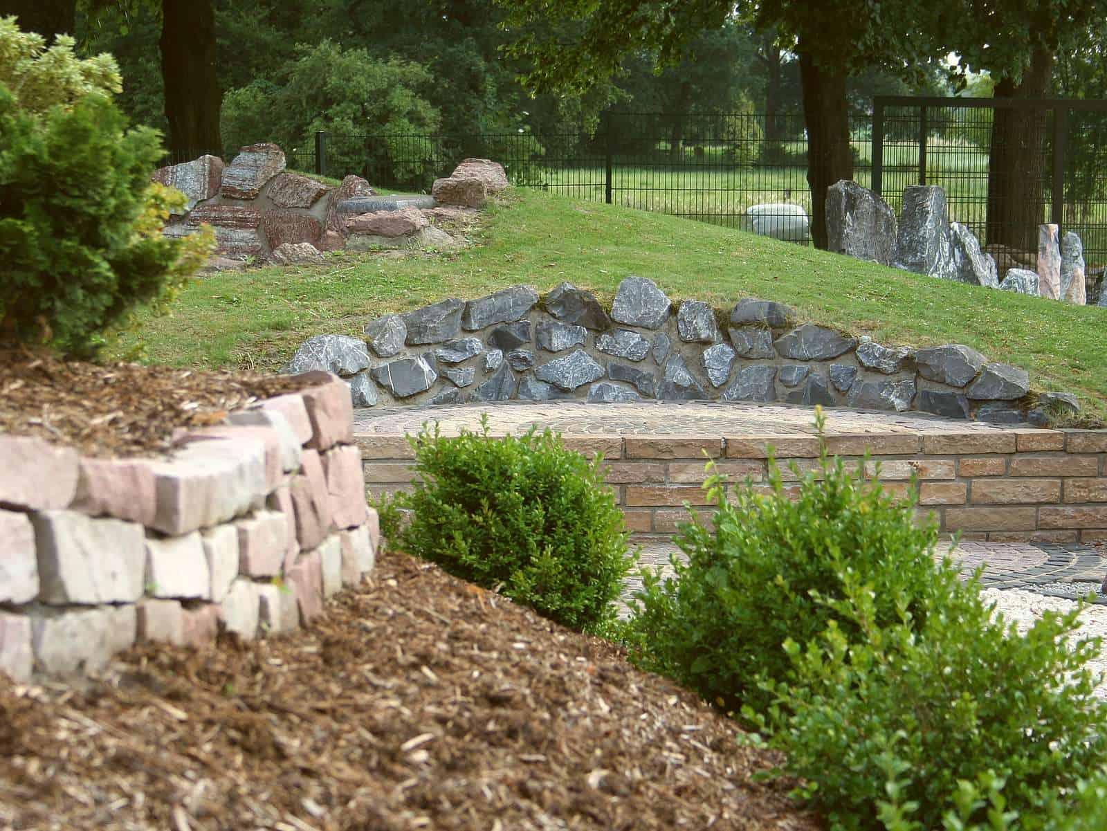 Natursteinmauern Suchspiel