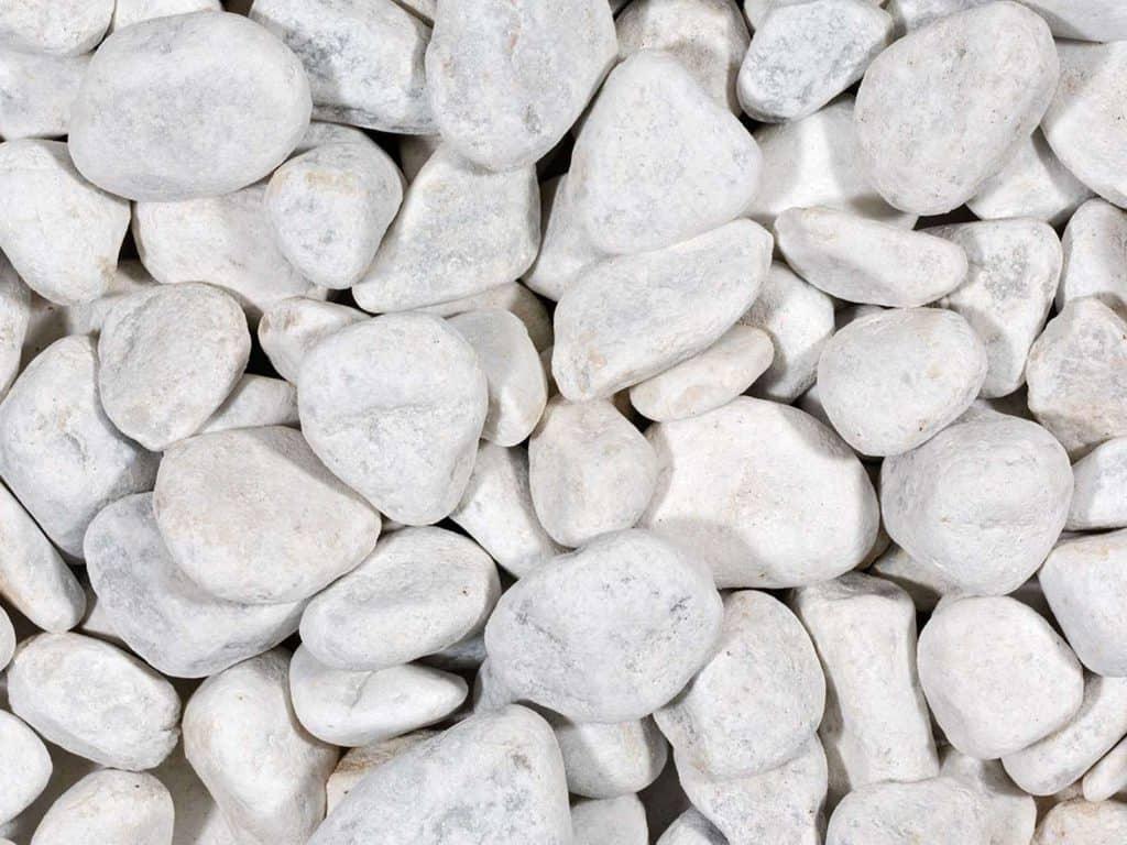 Der berühmte Carrara Kiesel