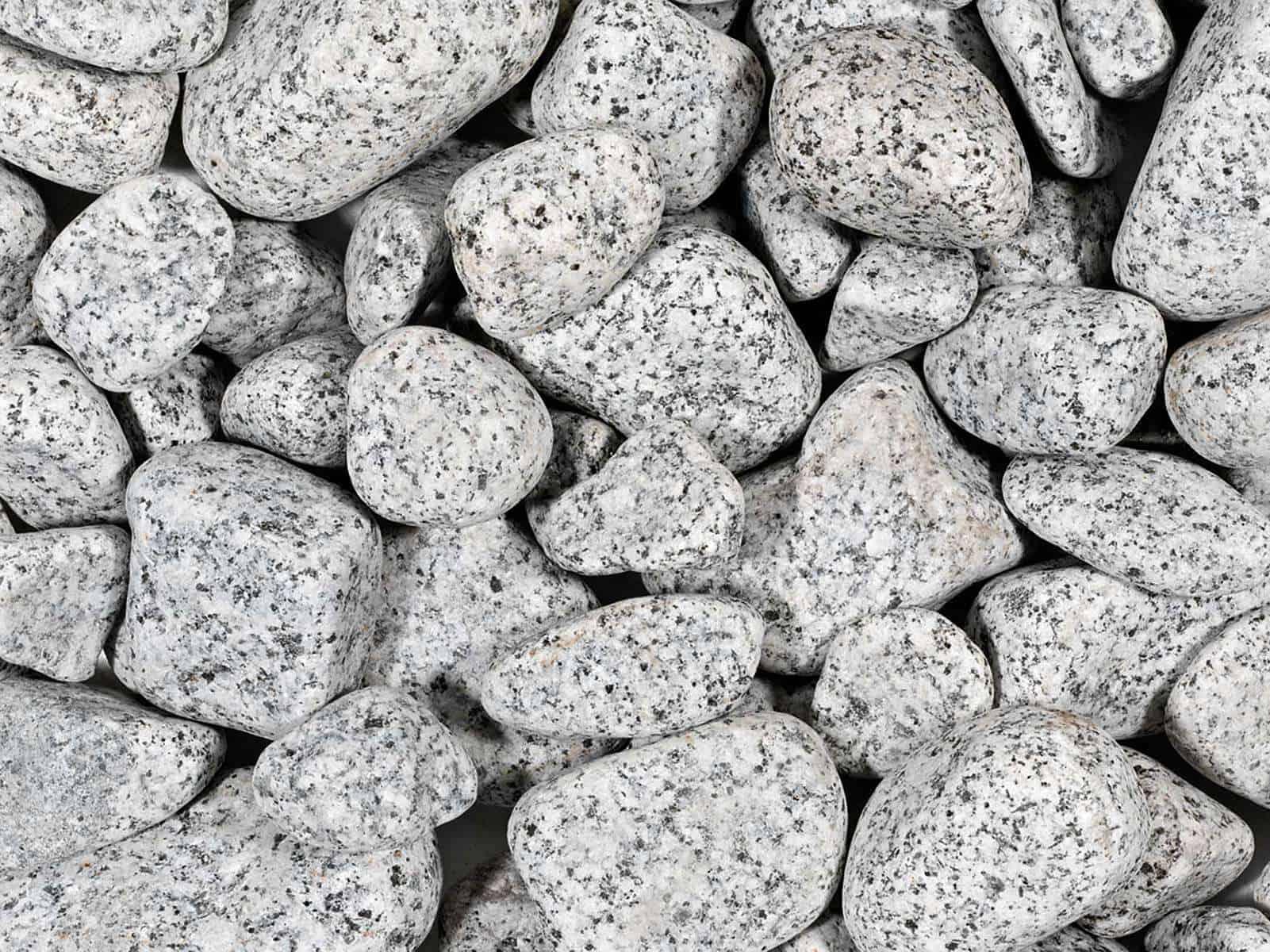 Granitkies und Gletscherkies für die Gestaltung