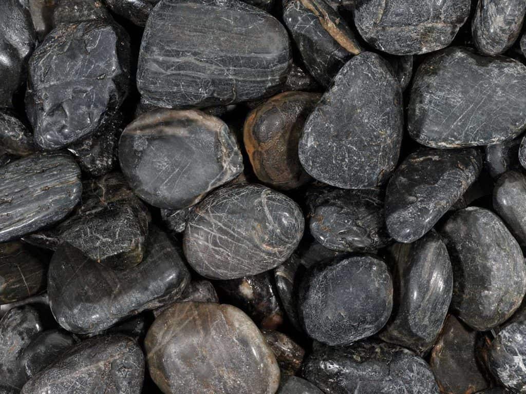 Glitter Stone black Kies