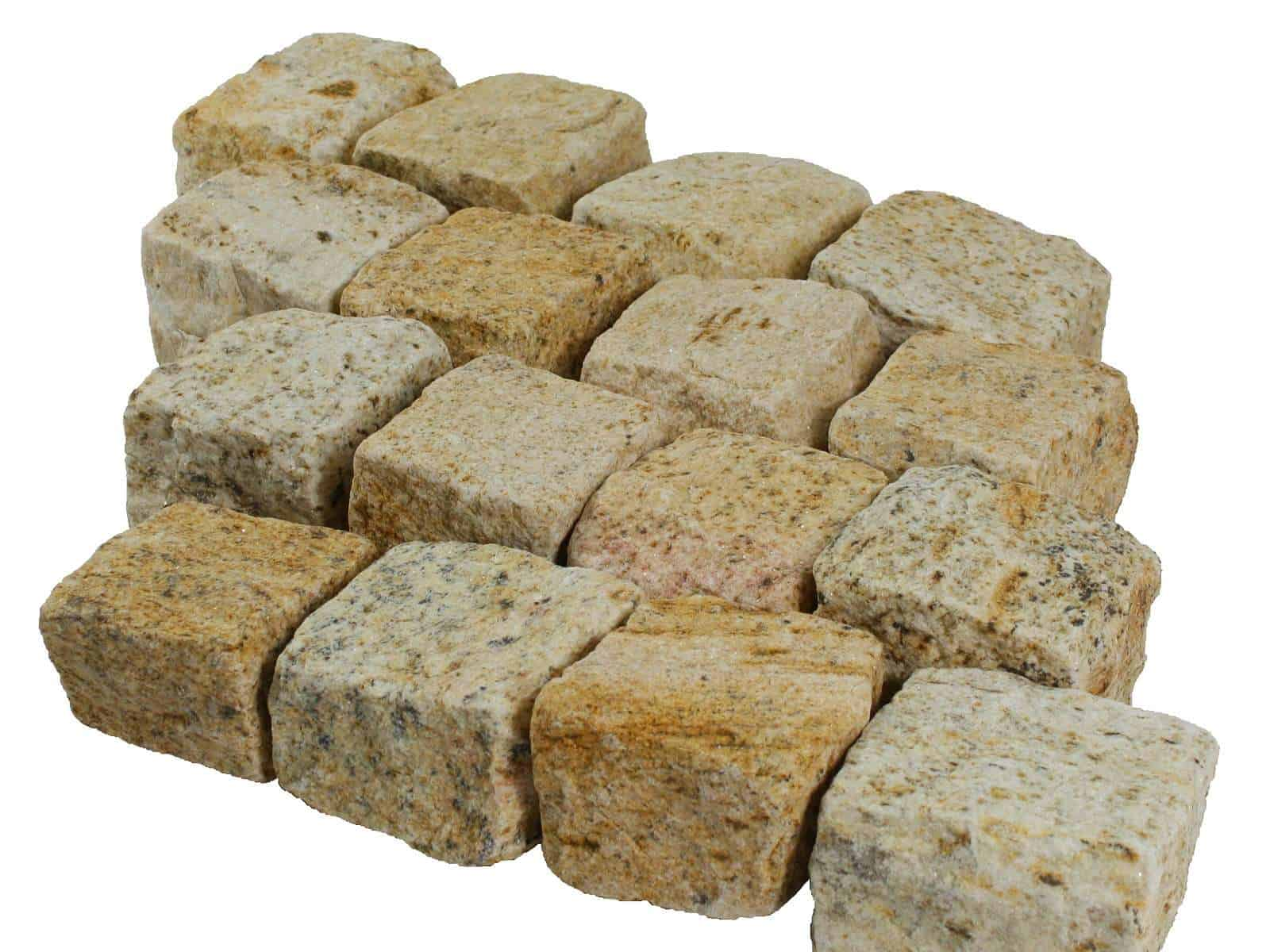Pflaststerstein Granit Diamantgelb