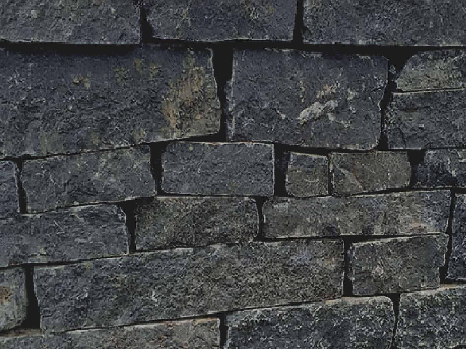 schichtenmauerwerk basalt schwarz. Black Bedroom Furniture Sets. Home Design Ideas