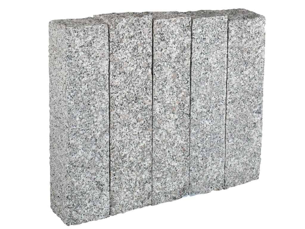 Die Granitpalisade Elegant ist die Alternative zur gespaltenen Variante!