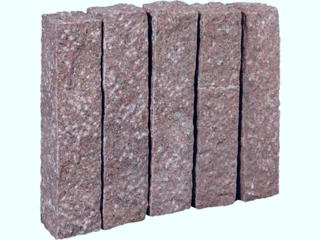 Palisade aus Granit Zora.