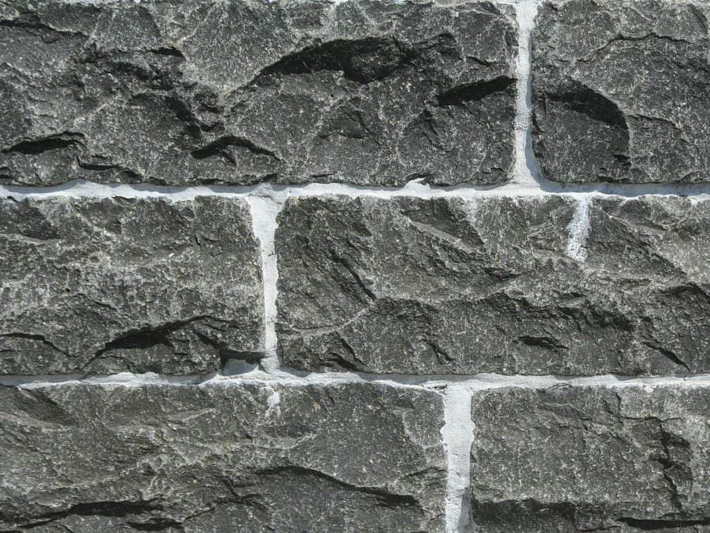 Steinmauer Kerala Basalt