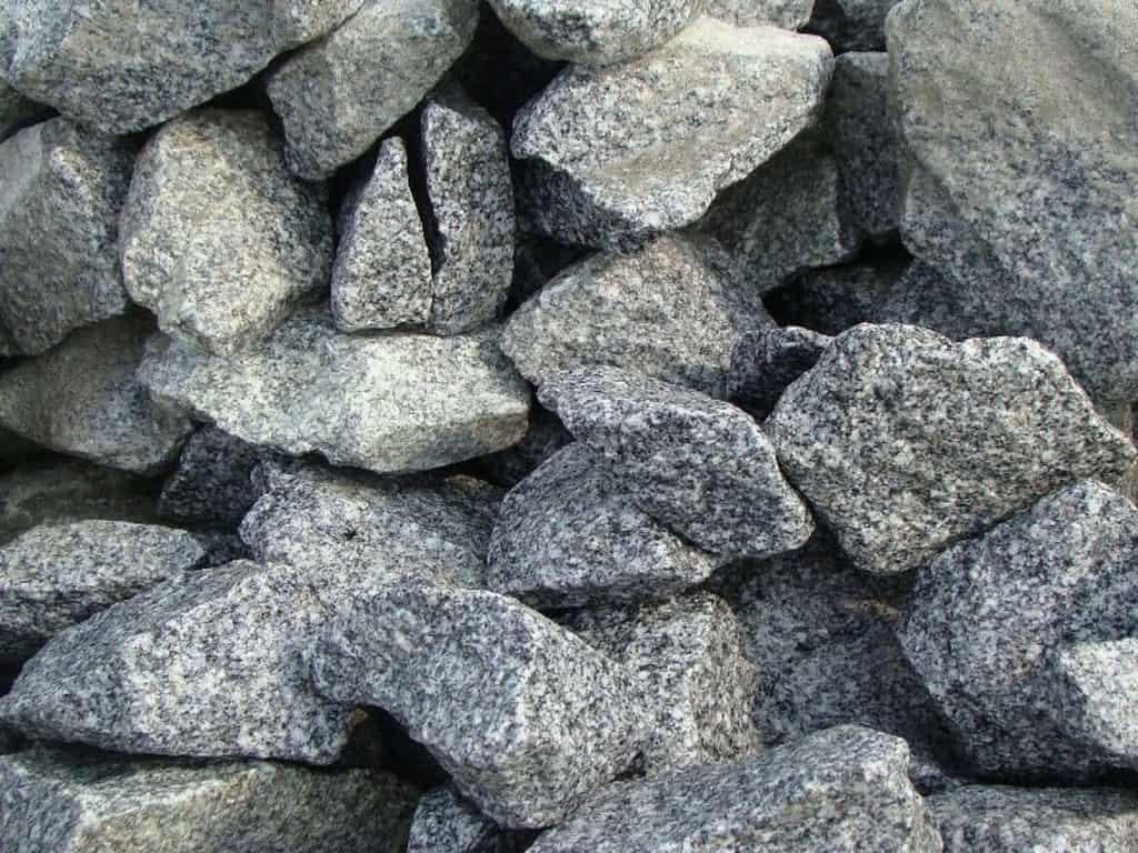 Gabionensteine Granit grau