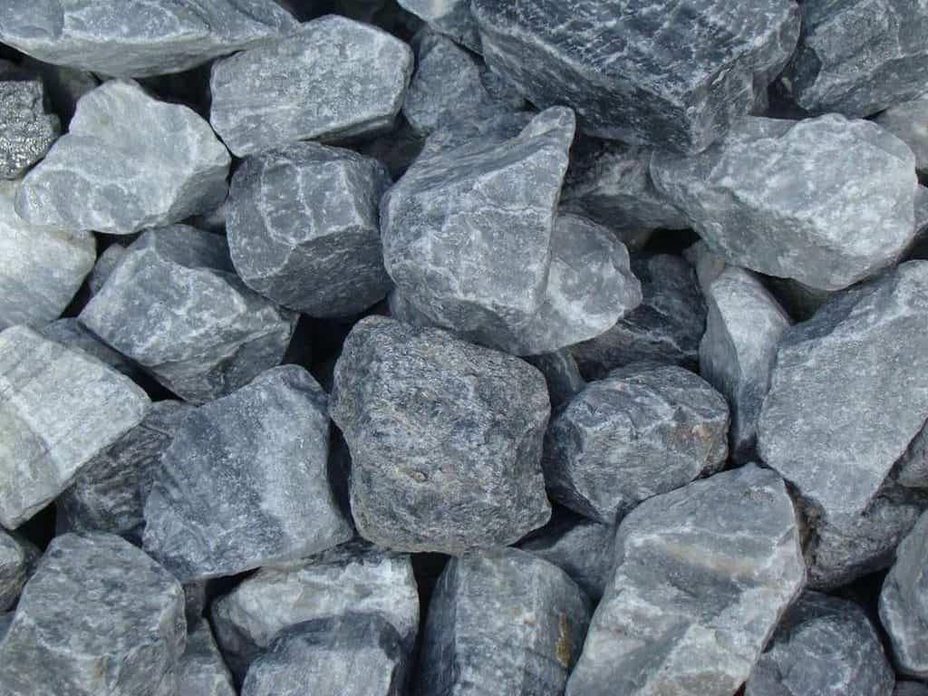 Gabionenstein Icy Blue Marmor
