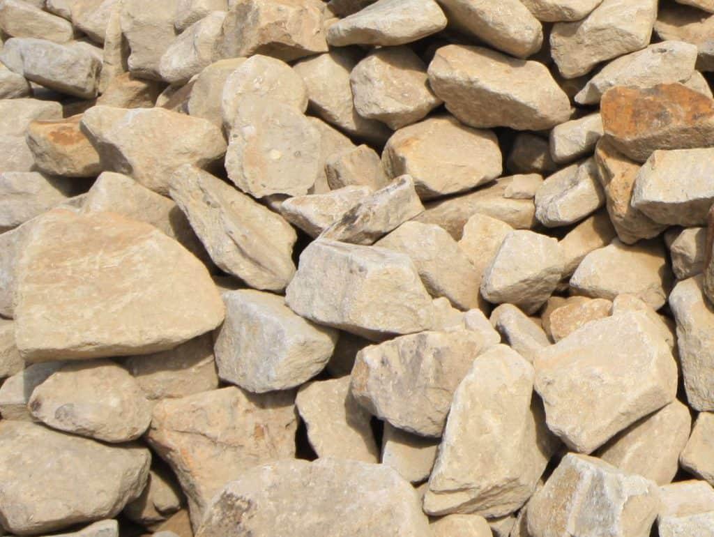 Ibbenbürener Sandstein Trockenmauer Bruchstein Klasse 2-3