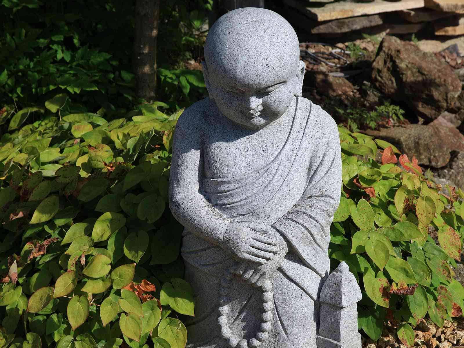 Kindermönch im Asiagarten