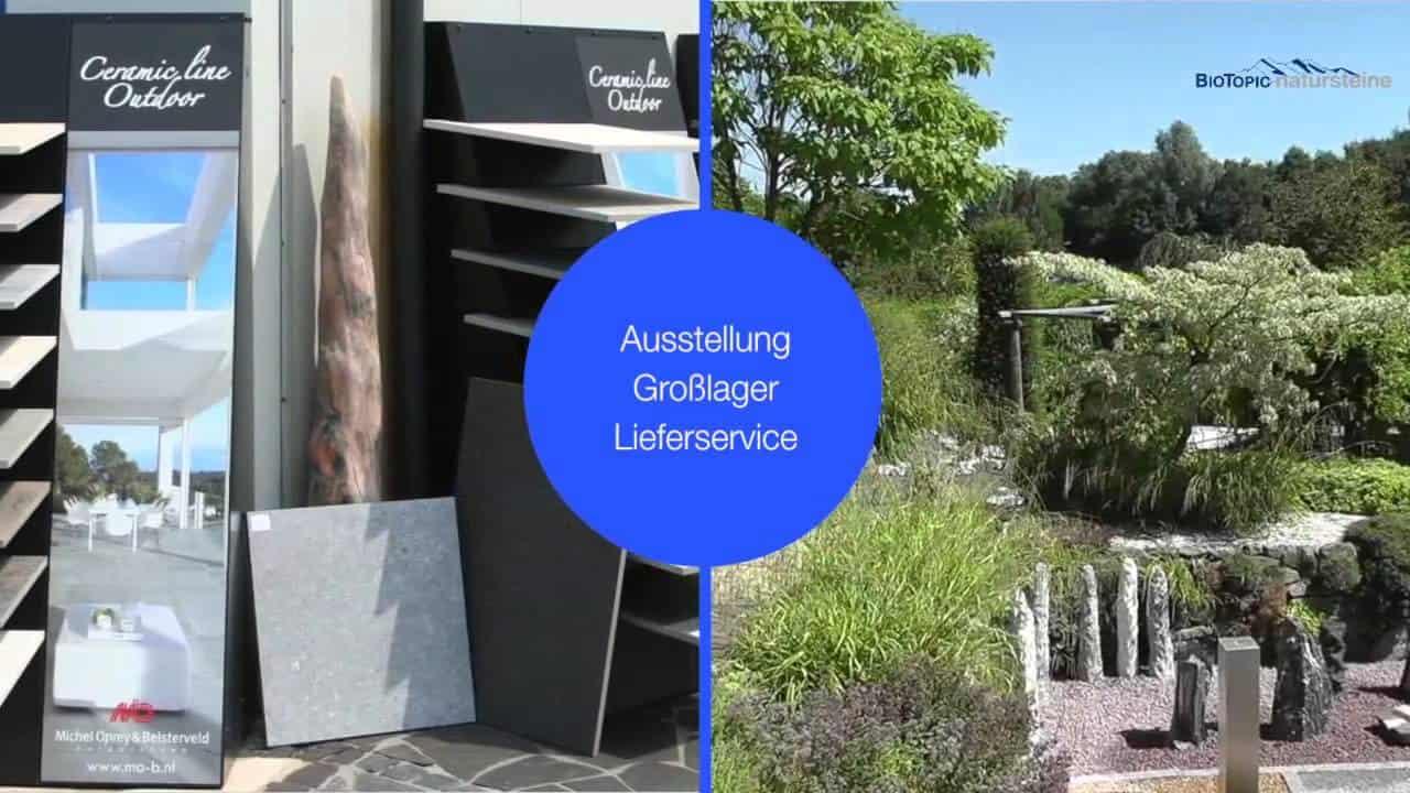 Natursteine für den Steingarten