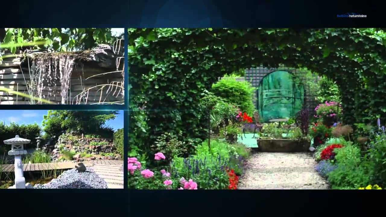 Steingarten Gestaltung mit Kies und Splitt