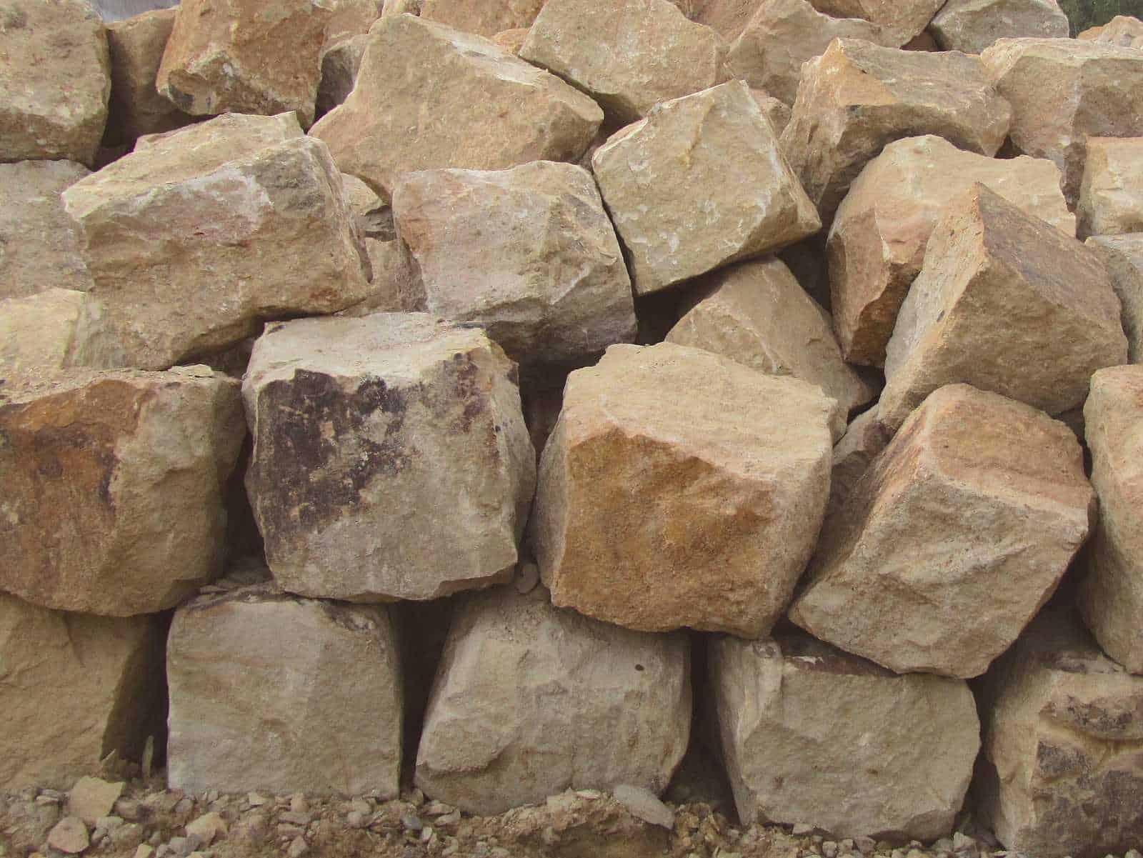 Sitzfelsen Ibbenbürener Sandstein
