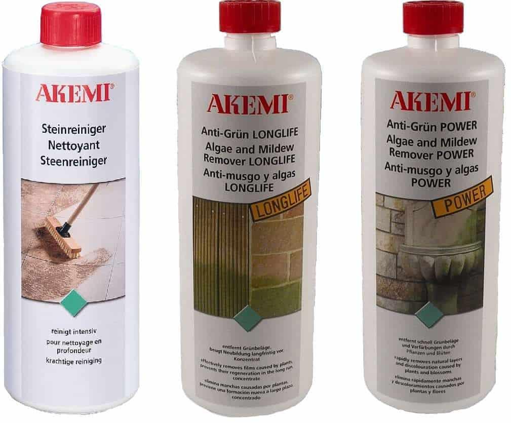 Reinigugsmittel von Akemi für Ihre Terrasse